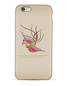 GetASkin Creative Bird back case for iPhone 6