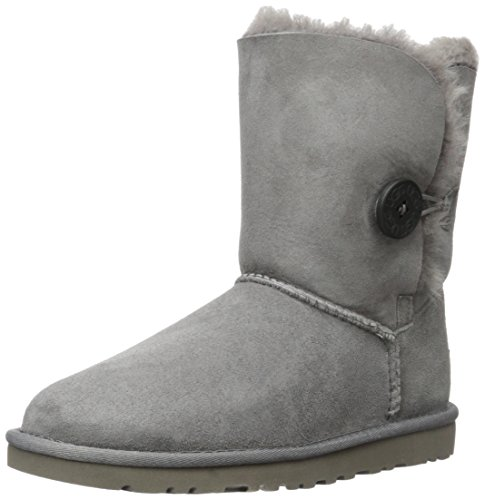 UGG W Bailey Button 5803 Damen Schlupfstiefel Grau (Grey)