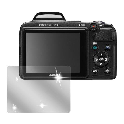 dipos I 6X Schutzfolie klar passend für Nikon Coolpix L330 Folie Displayschutzfolie