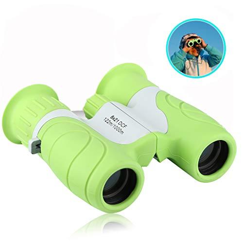 Kids 8x 21Fernglas Spielzeug für Kinder Jungen/Mädchen Mini-Fernglas Outdoor Educational Learning Vogelbeobachtung Wandern