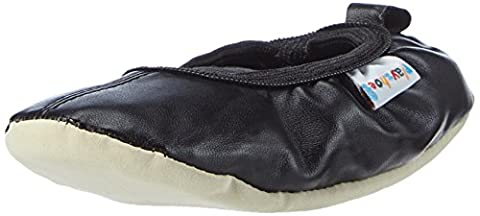 Playshoes Gymnastikschuhe, Ballet-Schuhe 208753, Mädchen Ballerinas, Schwarz (schwarz 20), EU