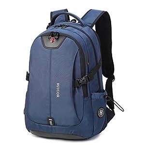 """Ruigor RG6147, robusto zaino da trekking, impermeabile, per attività all'aria aperta, 30 l, tasca per computer portatile da 15,6"""", colore blu, da uomo, zaino da lavoro 1 spesavip"""