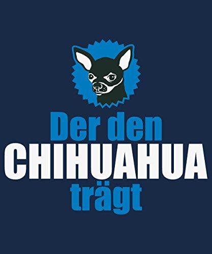 ::: DER DEN CHIHUAHUA TRÄGT ::: Boys T-Shirt Navy