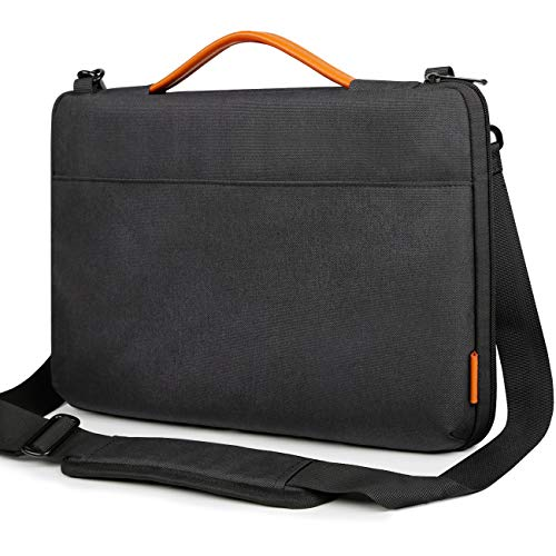 Inateck 14-14,1 Zoll Laptop Schultertasche, Wasserdichte und verschleißfeste Laptop Hülle für 14-14,1 Zoll Laptops, Notebooks, Ultrabooks, 15 Zoll MacBook Pro Retina 2016/2017/2018(A1707/A1990) Notebook-hülle