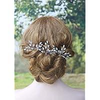 handmadejewelrylady novia Vintage boda partido Crystal Rhinestone pelo  pasadores cabello accesorios mujeres accesorio para la cabeza 825580576e7d