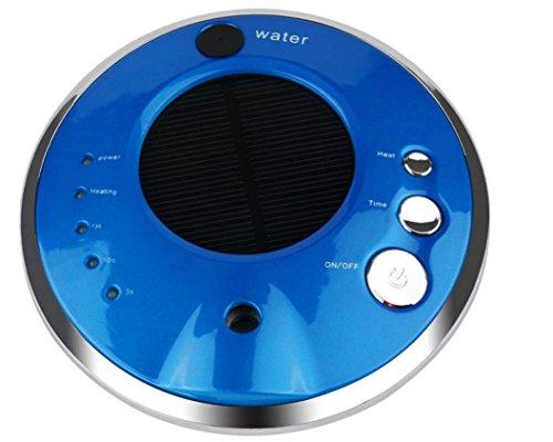 Luftreiniger Solarenergie Auto Luftreinigung Anion Luftbefeuchter Aromatherapie-Maschine , blue