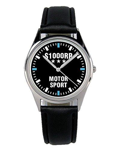 Kiesenberg Uhr 2376-B Geschenk Artikel für Bmw S1000RR Motorrad Fans und Fahrer