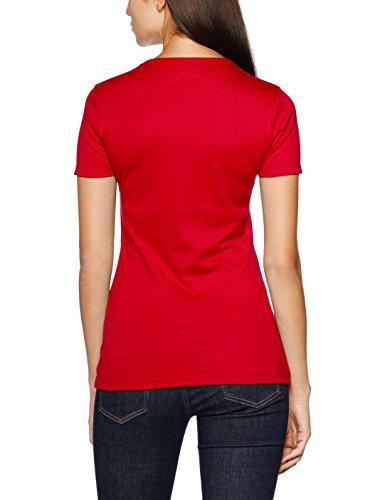 Trigema Damen T-Shirt Rot (kirsch 036)
