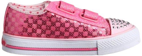 Skechers - ShufflesSweet Steps, Sneakers per bambine e ragazze Rosa (Pink (PNK))