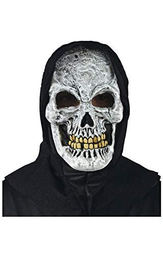 Horror-Shop White Skull Maske