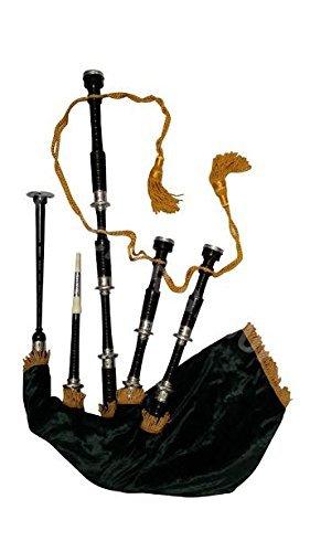 schottischen Great Highland Dudelsack Palisander Full Set/Dudelsack, GAITA, Dudelsack