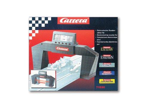 Carrera 20071590 - Elektronischer Rundenzähler für Profi, Evolution