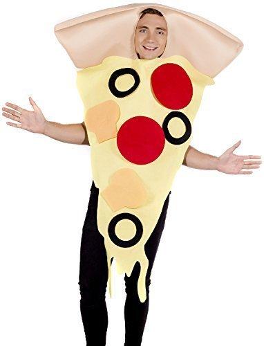 Herren Damen Pizza Fast Food Comedy Spass Scherz Henne Do Nacht Party Spaß Kostüm Kleid Outfit