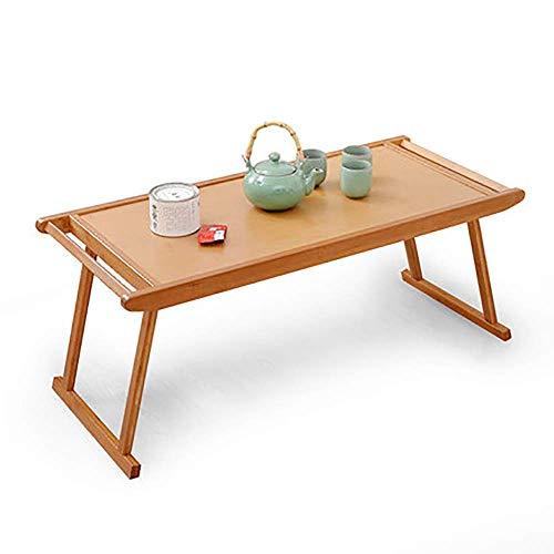 Klapptisch - Tisch Einfacher Kung Fu Tee Tisch Couchtisch Klappbarer Antiker Niedriger Tisch Klappbarer Couchtisch Home Office Schlafsaal Tisch (Größe: 96x43x39cm) -