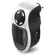Queta – Calefactor de enchufes |mini de calefacción | calefactor eléctrico | 500 W potencia