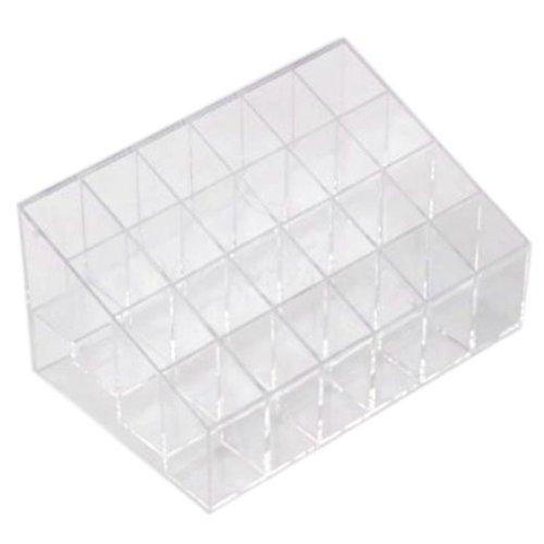 24-lattices-plastica-trasparente-trapezoidale-trucco-rossetto-cosmetici-contenitore-makeup-organizer