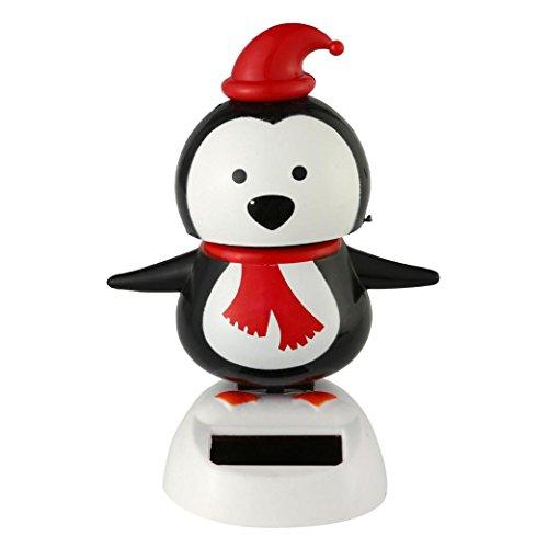 Malloom® Neue Solarbetriebene Tanz Weihnachten Swinging Animierte Bobble Tänzer Spielzeug Auto Dekor (I) Tanz-taschen Für Tänzer