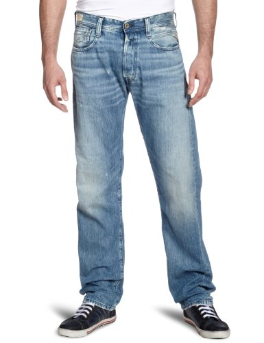 Replay - Jeans - Jambe droite - Homme Bleu (jeans)