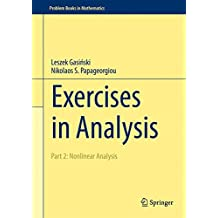 Exercises in Analysis: Part 2: Nonlinear Analysis (Problem Books in Mathematics)