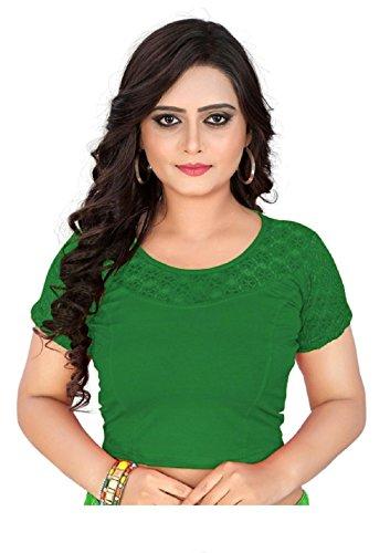 PRe-Snart Readymade blouses for women (83) (DarkGreen)