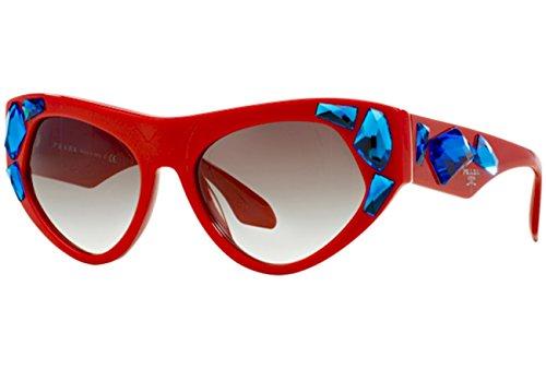 Prada Sonnenbrille 21Qs Red, 56