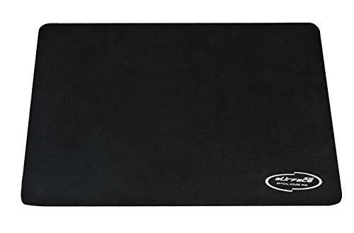 Bazone™ BAZONE Rubber Mouse Pad With 3mm Thickness 1030 Skid Resistant Surface-BLACK
