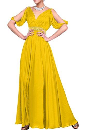 Missdressy -  Vestito  - linea ad a - Donna Oro