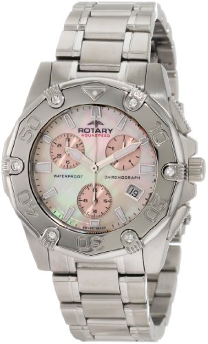 Rotary-Womens-Quartz-Watch-Aquaspeed-ALB90033C07-with-Metal-Strap