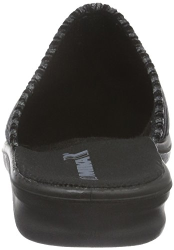 Romika Herren Präsident 127 Pantoffeln Grau (grau 710)