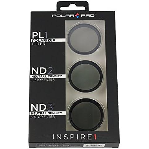 PolarPro 3er Filtro Attaccabile per DJI Inspire