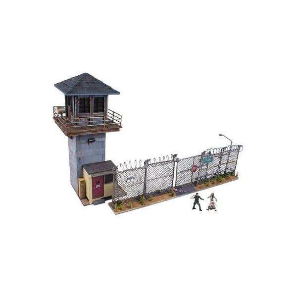 McFarlane Toys - Juegos de construcción - Torre y Puerta de la prisión de TV Walking Dead 1