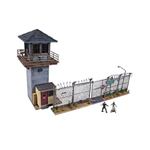 McFarlane Toys Building Sets -The Walking Dead TV Prison Tower and Gate