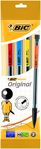 BIC Matic Original Mechanical Pencil (Yellow)