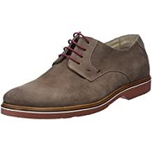 Amazon.es  Zapatos De Ante Hombre - Beige 11cd4d56715
