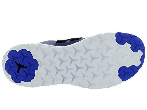 Nike  Jordan Flight Flex Trainer 2, Chaussures spécial basket-ball pour homme Multicolore - Morado / Azul / Negro / Blanco (Brght Concord/Bl Lgn-Blk-White)
