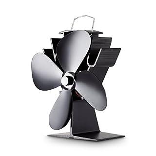 AA-Kaminwelt Stromloser Kaminofen Ventilator Stove Fan 4S Ofen Gebläse