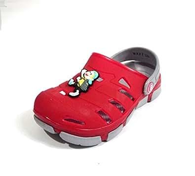9b1aab5c2 Kids rubber flip flop red - Bonkerz  Amazon.in  Shoes   Handbags