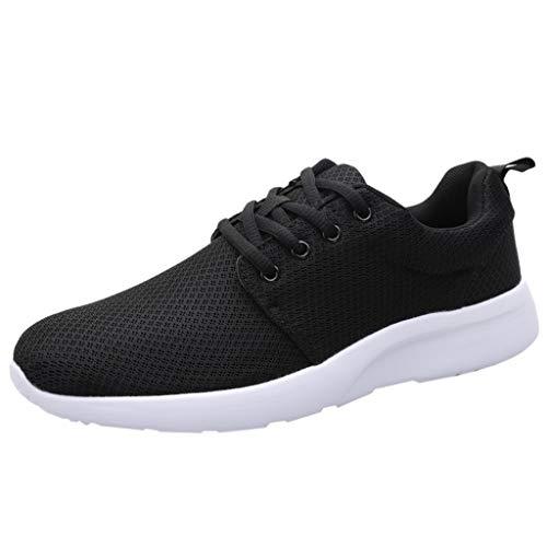 Touristische Schuhe Herren Mesh Tuch Atmungsaktiv Turnschuhe Leichtgewicht Sneaker Lace Up Freizeit Outdoorschuhe Trekking Joggingschuhe Klassiker Sportschuhe -