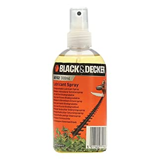 BLACK+DECKER Hedge Trimmer Oil Lubricant Spray for All Hedge Trimmers/Shears/Shrubbers