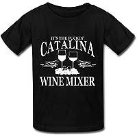 Big Boys'/Girls' It's The Fuckin' Catalina Wine Mixer T-Shirt - BlackYILIAX10356XXXX-L
