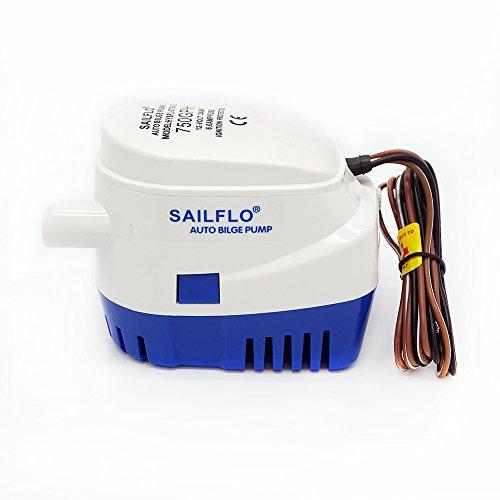 ECO-WORTHY 12 Volts 750 GPH Automatic Bilge Pump Bilgepump Selbstlenz for Pool Pond Hull