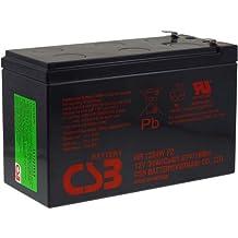 CSB Batería de Plomo-ácido de Alta Descarga HR1234WF2 12V 9Ah