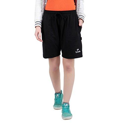 Splash - Women 's Shorts - Plain (Black, M)
