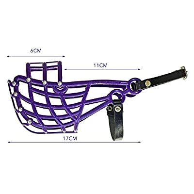Don Pare Muzzle Model 103 training and transport muzzle for medium size dogs with a narrow head whippet in Different Colours Also racing muzzle and coursing muzzle by Amathings by Don Pare
