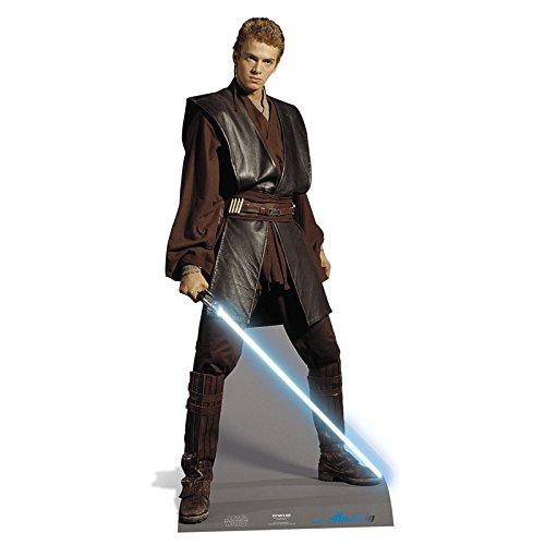 StarCutouts Figura de cartón Anakin Skywalker en Grande, Talla 180cm