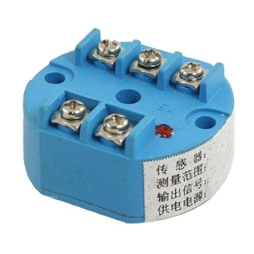 PT100Temperaturfühler Transmitter 0-100C 24V DC 4-20mA Ausgang -