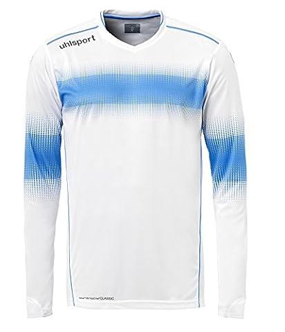 Uhlsport Eliminator Maillot de gardien Homme Blanc/Bleu Energy FR : XL (Taille Fabricant : XL)