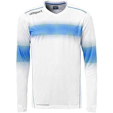 Uhlsport Eliminator–Camiseta de portero para hombre, camiseta, color Blanco - Blanc/Bleu Energy, tamaño XXL