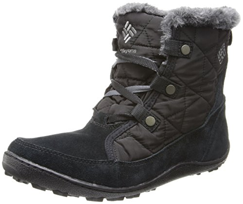 Columbia Minx Shorty Omni-Heat Stivali Invernali, Nero(Black/Shale), US 8/EU 39