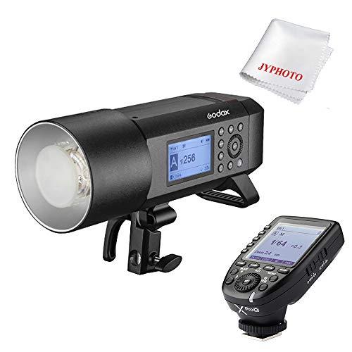 Godox AD400 Pro Blitzgeräte 400ws GN72 TTL 1/8000 HSS Batteriebetriebenes Blitzt mit Xpro-O Auslöser Sender für Olympus/Panasonic SLR Camera Monolight-flash-kit